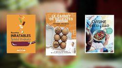 5 livres de cuisine pour