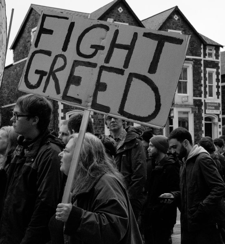 """""""'Save Guildford Crescent March."""""""