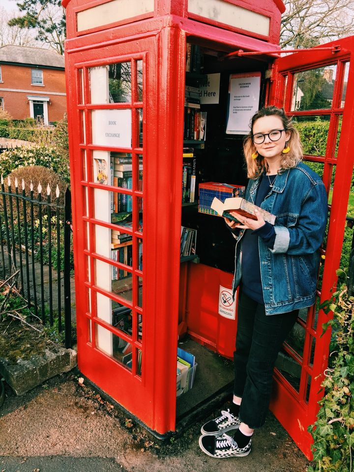 """""""The cutest book exchange award goes to this phone box in Colton, Staffordshire."""""""