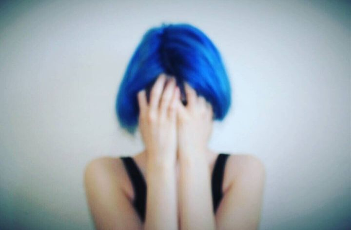 """""""When my anxiety was worst, I took this photo, it was the best way to explain it."""""""