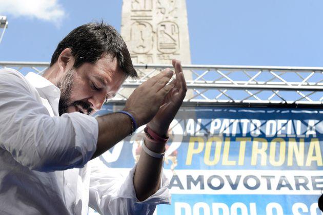 #Papeeteinpiazza, la manifestazione di Roma è un flop sulla