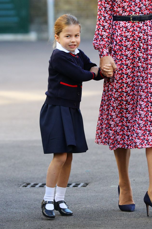 Princess Charlotte Got Herself A Nickname At Nursery For Her 'Feisty