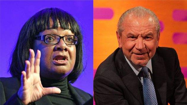 Diane Abbott MP and Lord Alan
