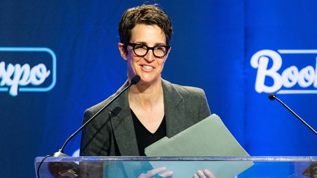 NEW YORK, NY, UNITED STATES - 2019/05/30: American television host Rachel Maddow speaking at BookExpo in New York City. (Photo by Michael Brochstein/SOPA Images/LightRocket via Getty Images)