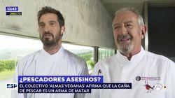 El hijo de Karlos Arguiñano enfrenta su primera polémica en televisión... y algunos le señalan por usar esta