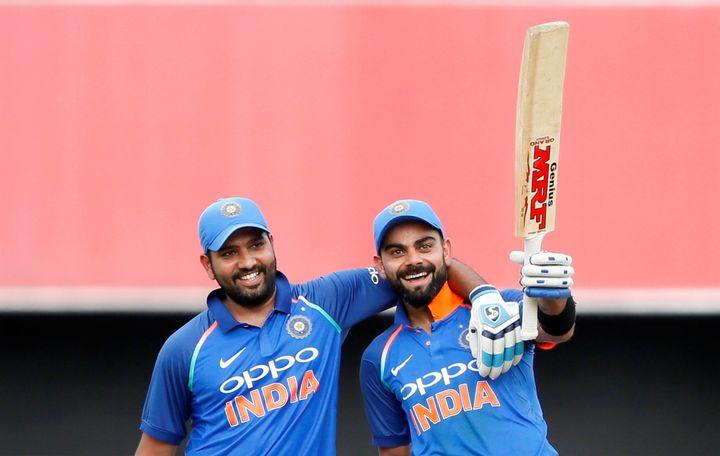 File image of Virat Kohli and Rohit Sharma.