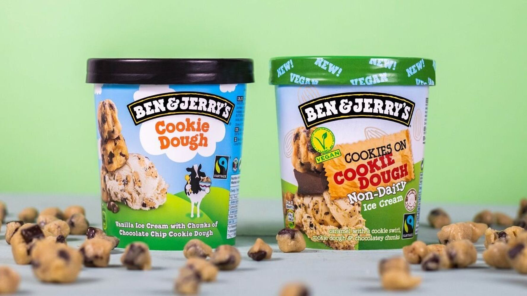We Tried Ben & Jerry's Vegan Cookie Dough Ice Cream – Here's The Verdict