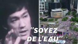 À Hong Kong, les manifestants suivent la philosophie