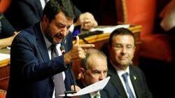 Salvini interviene al Senato:
