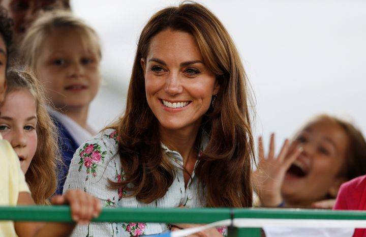 The Duchess of Cambridge attends the Back to Nature festival at RHS Garden Wisley on Sept. 10.
