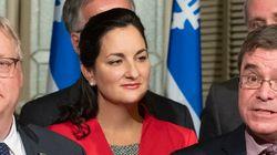 Marie Montpetit ne sera pas candidate à la chefferie du Parti