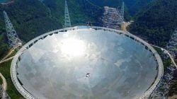 Le plus grand télescope du monde capte des signaux