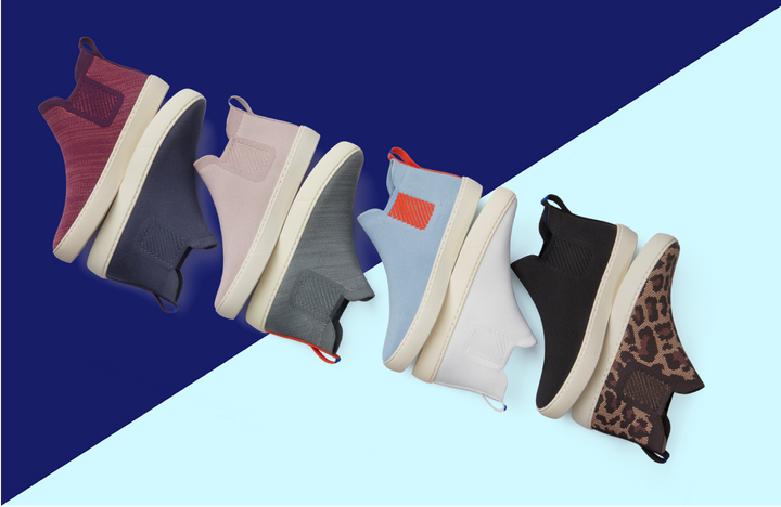 Rothy's new Chelsea boot comes in eight colors.
