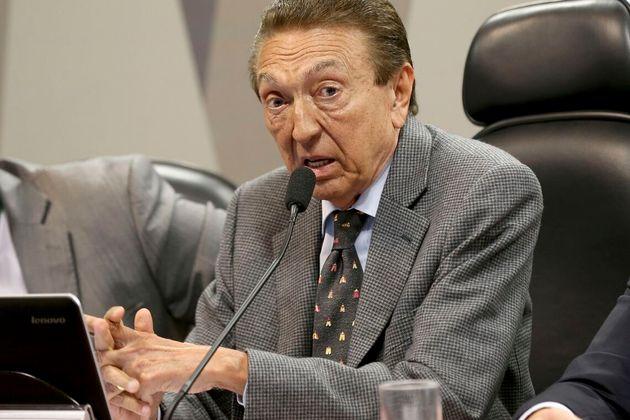 Edison Lobão foi ministro de Minas e Energia durante os governos dos ex-presidentes Luiz Inácio...