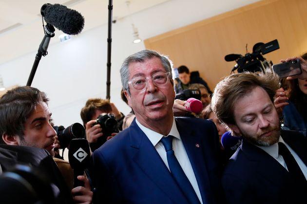 Patrick Balkany, ici au tribunal à Paris le 13 mai 2019,pourra-t-il encore se présenter...
