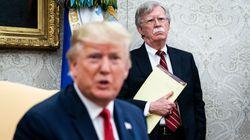 Trump limoge John Bolton, son très dur conseiller à la sécurité