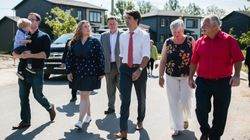 Trudeau Thanks First Responders In Halifax After Dorian Storm