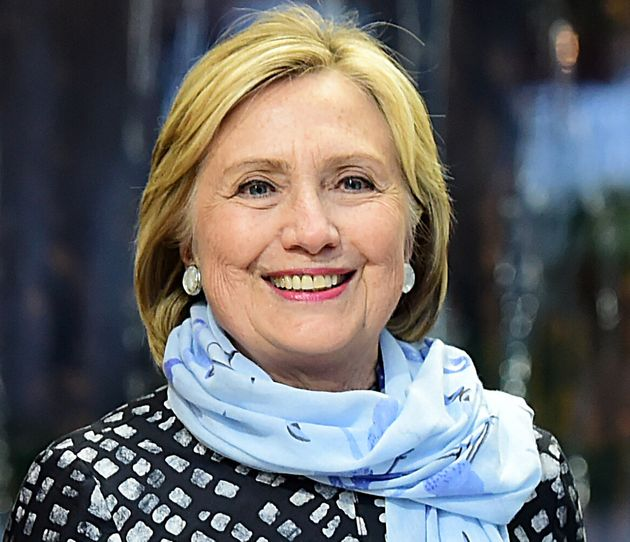 Hillary Clinton at the Ambrosetti International Economic Forum 2019 in Cernobbio, Italy on Sept. 6. The...