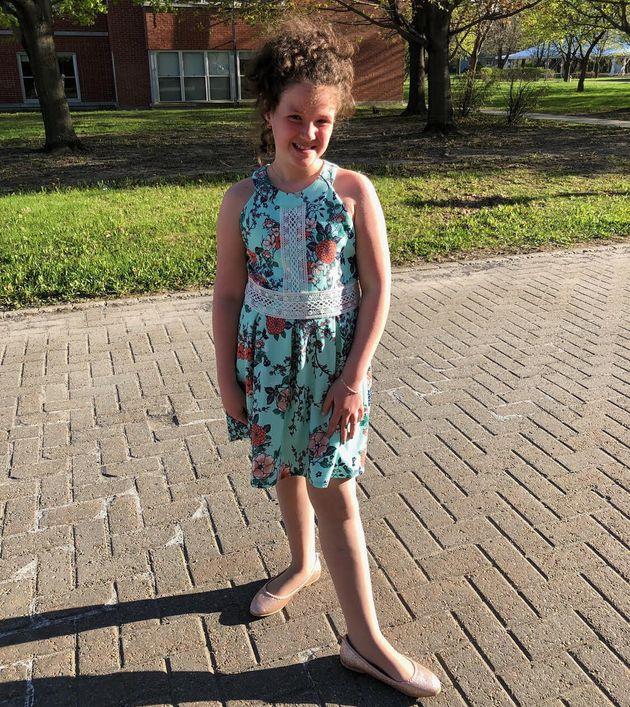 Charlie Provost est maintenant âgée de dix ans. Elle est en rémission de la leucémie...