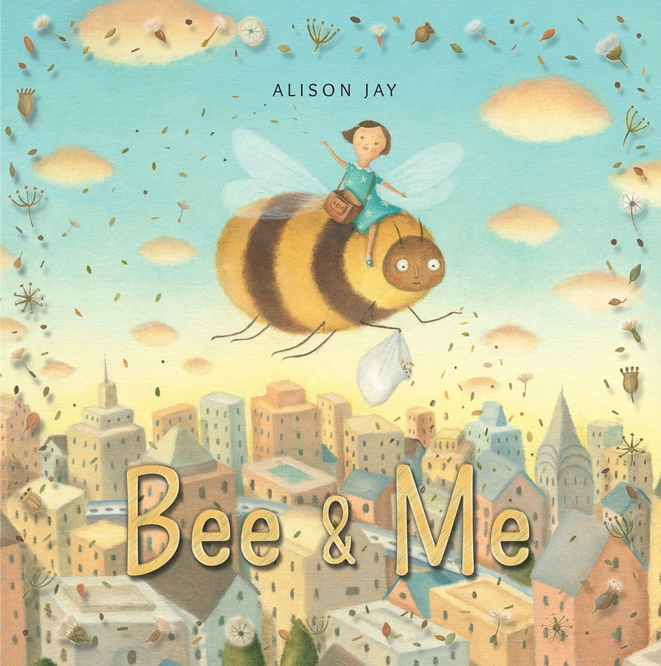 Bee and Me by Alison Jay children's book illustration for 18 children's books to teach children about social issues