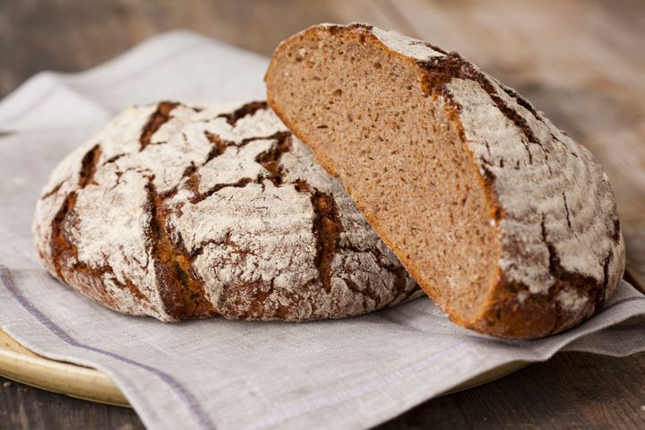 Whole-grain sourdough bread boasts a host of health benefits, including properties that allow your body to better absorb vitamins and minerals.