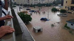 Pluies diluviennes sur la Tunisie, les routes bloquées (PHOTOS,