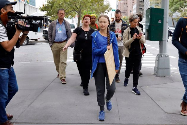 Greta Thunberg, le vendredi 6 septembre 2019, à New