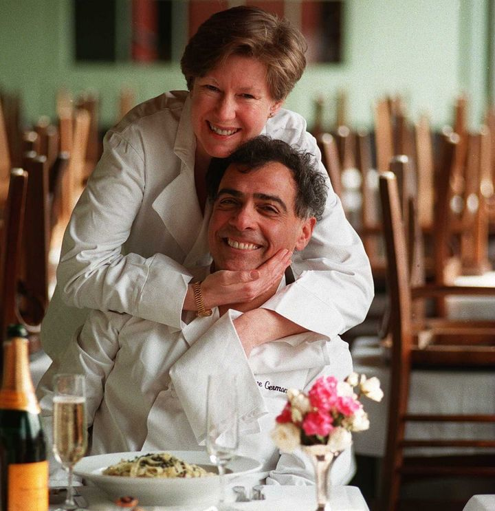 George Germon and Johanne Killeen at Al Forno have perfected the art of grilled pizza in Providence, Rhode Island.