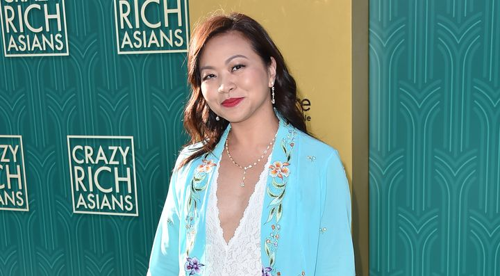 "Adele Lim attends the premiere of Warner Bros. Pictures' ""Crazy Rich Asiaans"" at TCL Chinese Theatre IMAX on August 7, 2018 i"