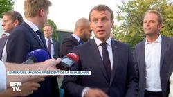 Macron appelle au