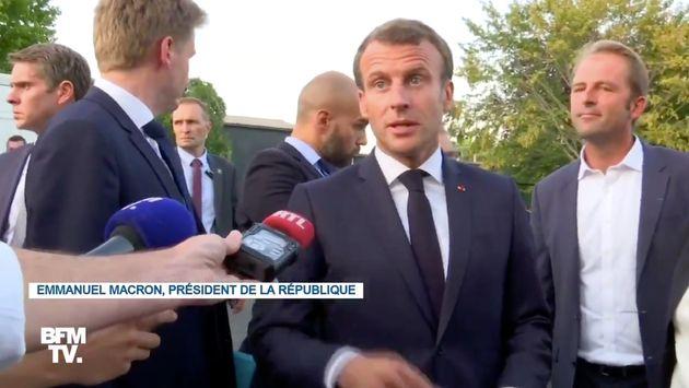 Emmanuel Macron a appelé au