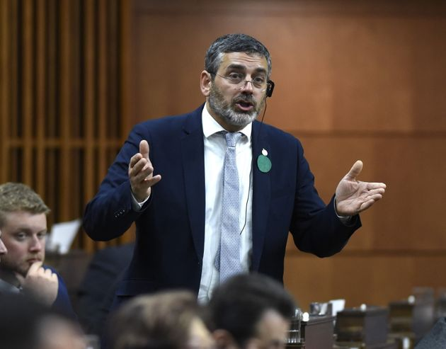 Former NDP MP Pierre Nantel, shown during Question Period in the House of Commons on June 5, 2019, called...