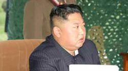 북한의 올해 10번째 발사체 사격현장서 김정은이 한