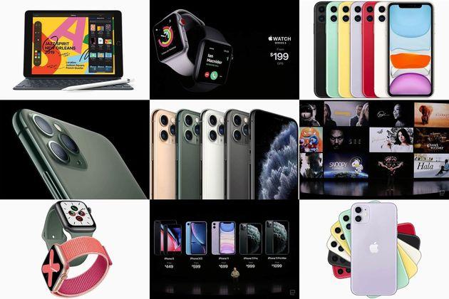 9月10日発表、新型iPhone一覧