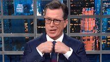 Stunned Colbert Reveals How