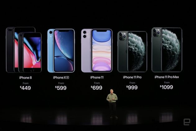 iPhone 11、11 Pro、11 Pro Maxの発表にあわせ、iPhone XRとiPhone