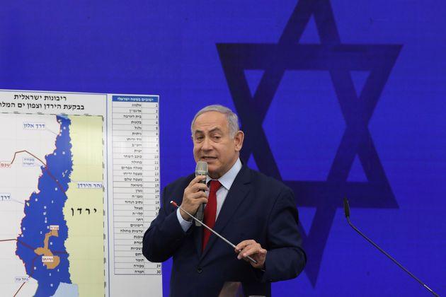«Επίθεση» στους Παλαιστινίους η δέσμευση Νετανιάχου για προσάρτηση της Κοιλάδας του