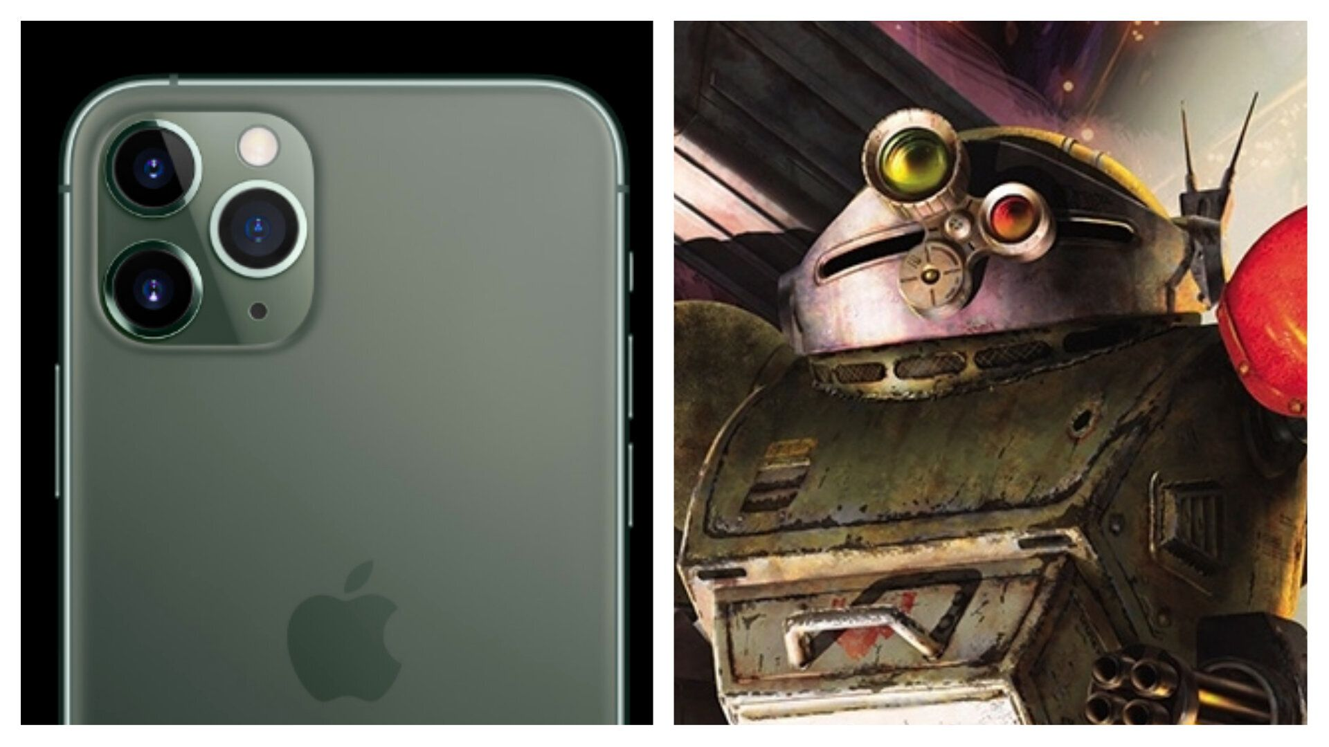 装甲騎兵ボトムズとiPhone 11 Proは、本当にそっくりなのか