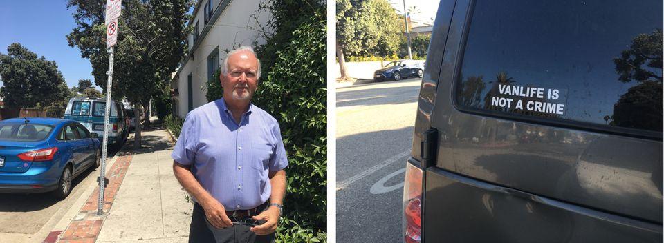 À Venice, Mark Ryavec fait la guerre aux vans, notamment ceux que loue Gary Gallerie, qui portent tous...