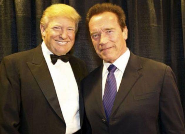 Donald Trump y Arnold
