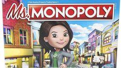 Dans le nouveau Monopoly les femmes gagnent plus d'argent que les