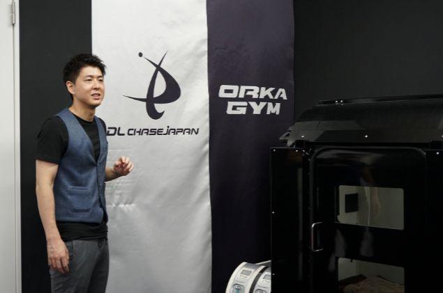 ORKA GYM代表、かつパーソナルトレーナーの神谷卓宏さん