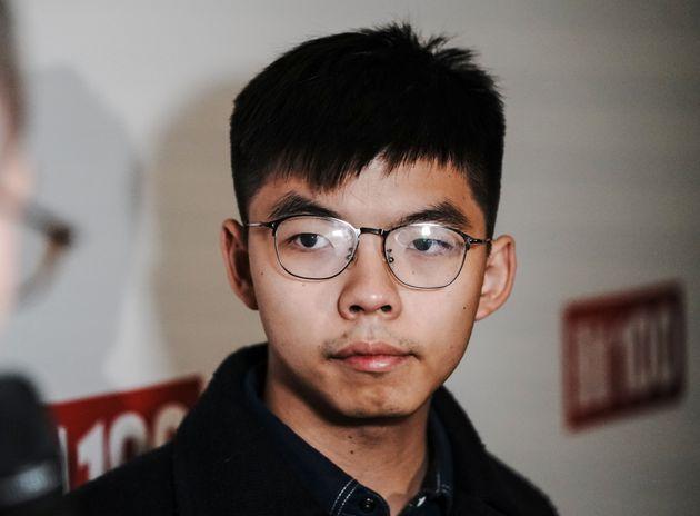 """""""Hong Kong è la nuova Berlino nella nuova Guerra fredda"""". Joshua ..."""