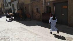 Sor Elsa, la monja que corre delante de los toros: