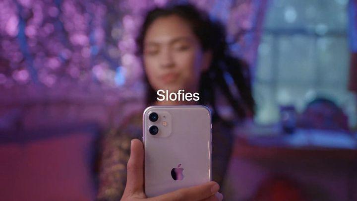 """Les """"slofies"""" promettent un selfie au ralenti en qualité 4K avec un capteur de 12 mégapixels."""
