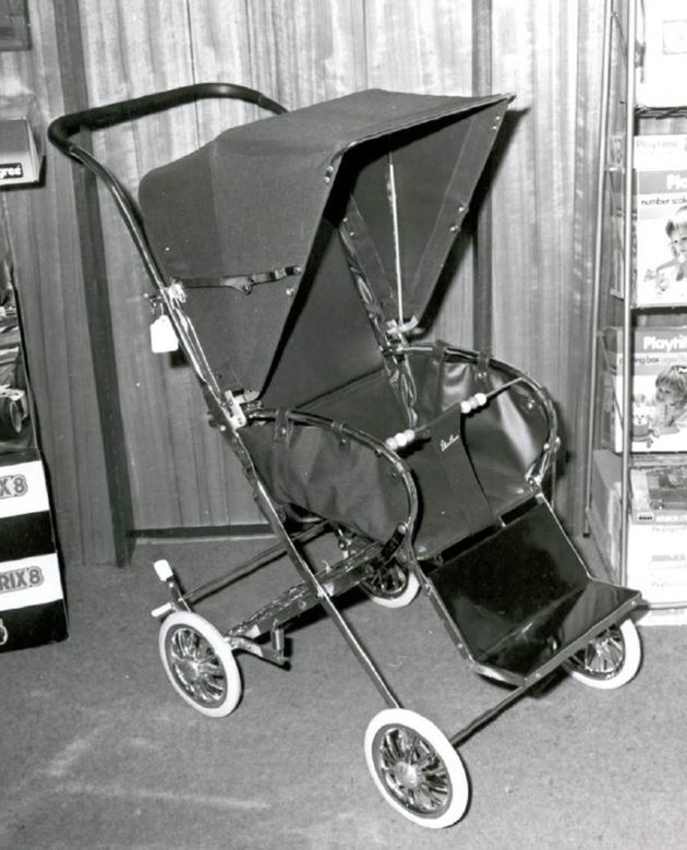 It is believed they had a pram for Andrew identical to this with them when they were