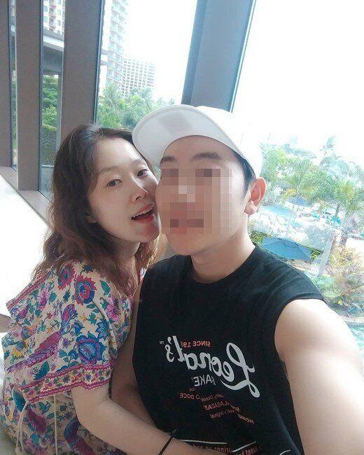 태교여행을 떠난 방송인 박슬기와 그의