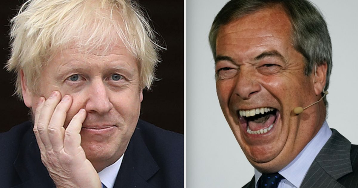 Boris Johnson Rules Out Election Pact With Nigel Farage's Brexit Party