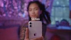 """Oubliez le selfie, Apple invente le """"slofie"""" avec le nouvel iPhone"""