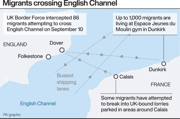 Channel Migrants: Two More Boats Found After 86 People Attempt Crossing